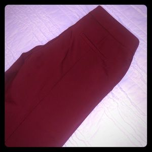 Express ankle length work pants